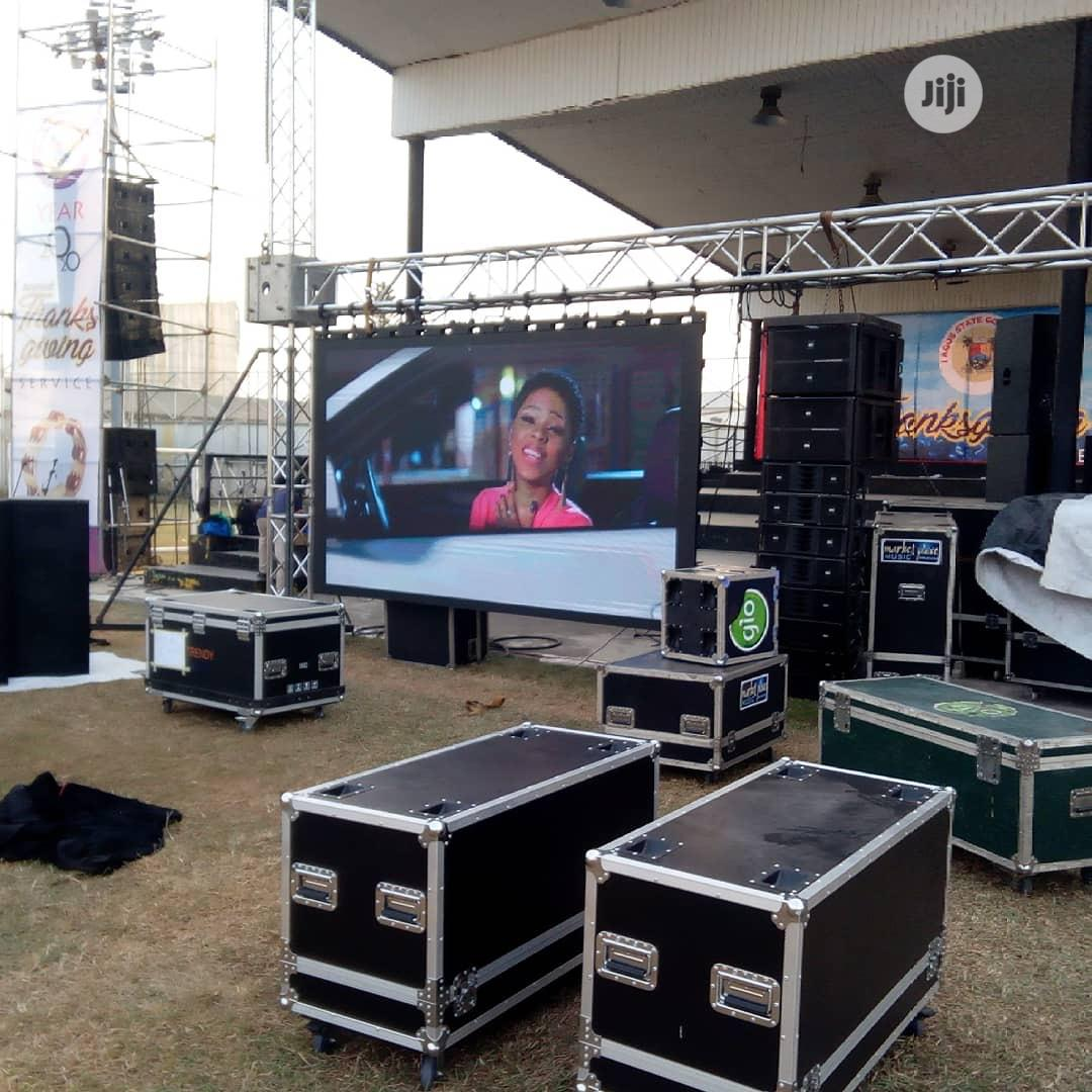 Rental LED Screen And Stage Setting