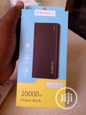 Romoss Solit 20 Power Bank 20000mah 2 USB Input Port   Accessories for Mobile Phones & Tablets for sale in Lagos State, Ikeja