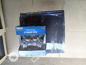 Playstation 3 Slim Console With Games Both FIFA PES 21 | Video Game Consoles for sale in Lagos State, Oshodi