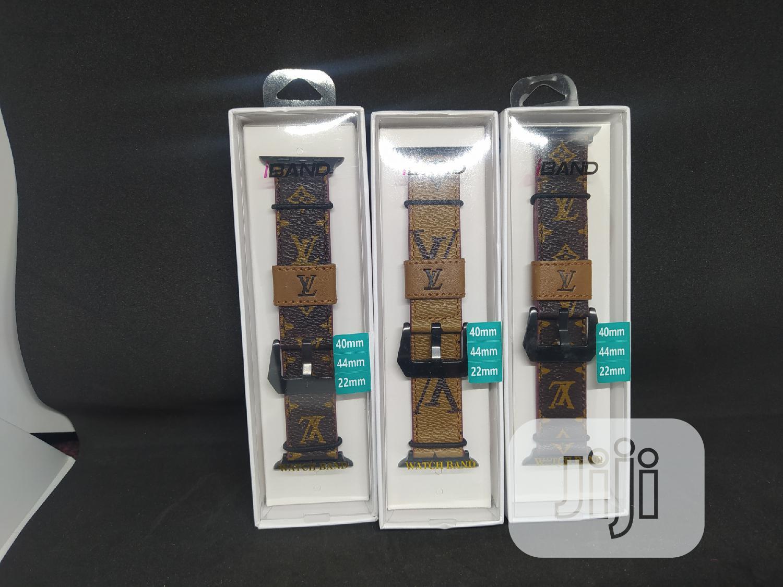 Louis Vuitton Strap For Apple Series Watch