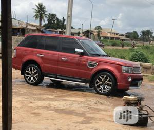 Land Rover Range Rover Sport 2007 HSE 4x4 (4.4L 8cyl 6A) Red   Cars for sale in Oyo State, Egbeda