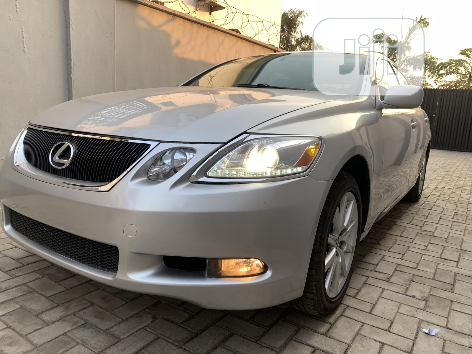 Lexus GS 2007 350 4WD Silver | Cars for sale in Ikeja, Lagos State, Nigeria
