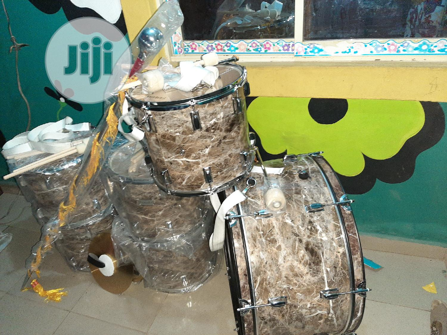 Complete Professional Marching Parade Drum Set - 6 Pieces   Musical Instruments & Gear for sale in Ojo, Lagos State, Nigeria