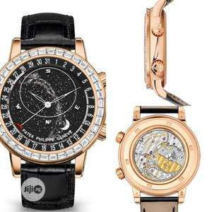 High Quality Patek Philippe Moon Dial Leather Watch   Watches for sale in Lagos State, Magodo