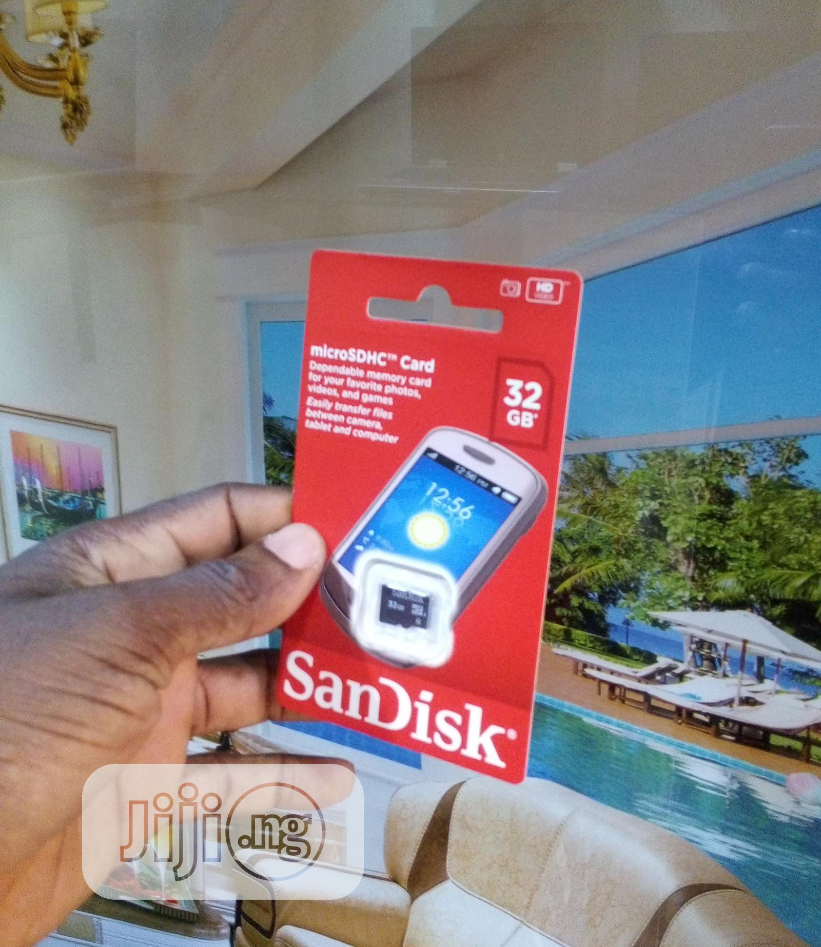 Archive: Sandisk Ultra 32GB Micro SD Memory Card 80mb/S Class 10