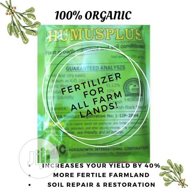 Humusplus Organic Fertilizer-a Bundle Of 5 Packs | Feeds, Supplements & Seeds for sale in Ajah, Lagos State, Nigeria