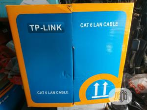 Tp-link Cat 6 LAN Cable | Accessories & Supplies for Electronics for sale in Lagos State, Ikeja