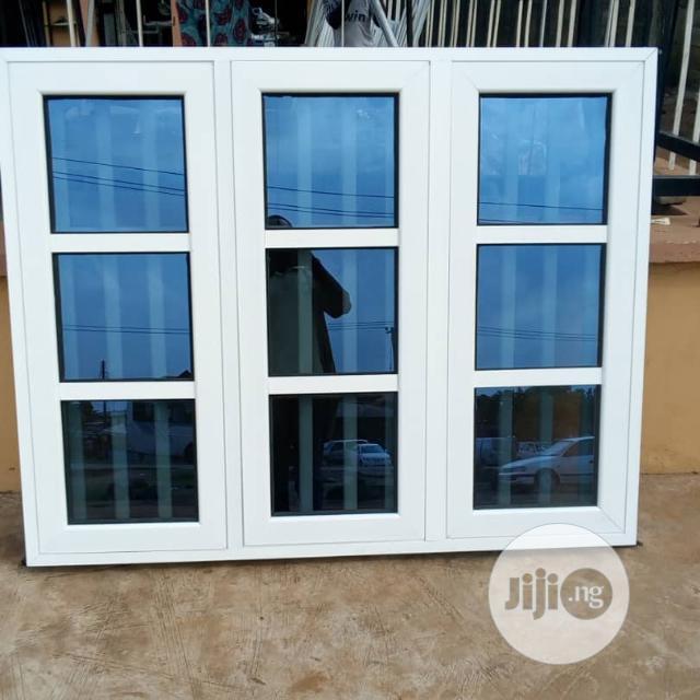 Casement Window With Burglary