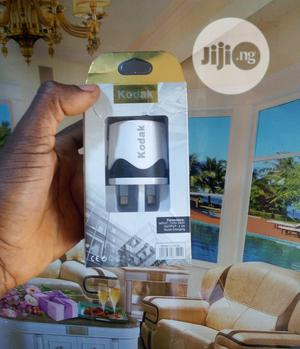 KODAK Dual USB Port Wall Charger + Free Android USB Cable | Accessories for Mobile Phones & Tablets for sale in Lagos State, Ikeja