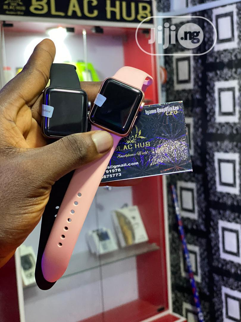 Apple Series 3 38mm Watch | Smart Watches & Trackers for sale in Benin City, Edo State, Nigeria