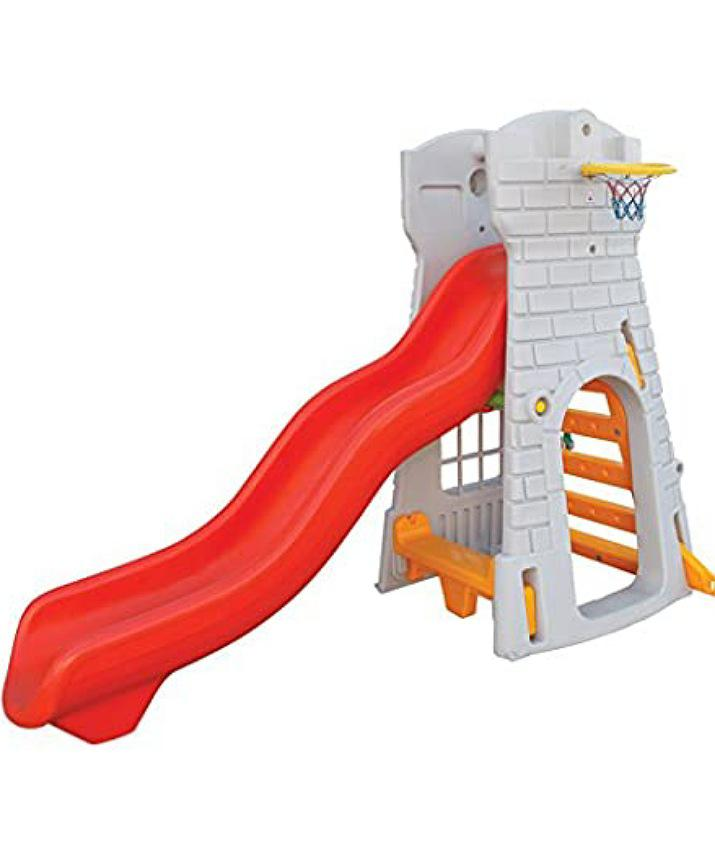 Archive: Castle Slide With Basket Ball