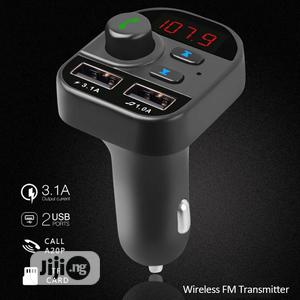 Wireless Bluetooth Kit FM Transmitter Car MP3 Radio | Vehicle Parts & Accessories for sale in Lagos State, Ajah