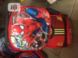 12inches Spider-Man Trolley Bag   Babies & Kids Accessories for sale in Lagos State, Surulere