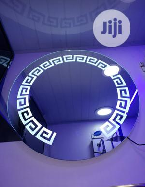 Round Shape Led Mirror. | Furniture for sale in Lagos State, Surulere