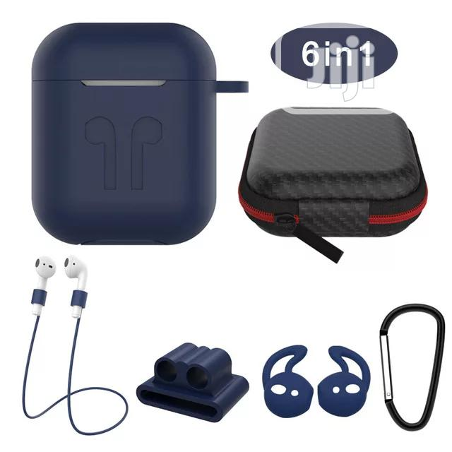 Ear-pod Silicone Case With Antilost Strap & Carabiner