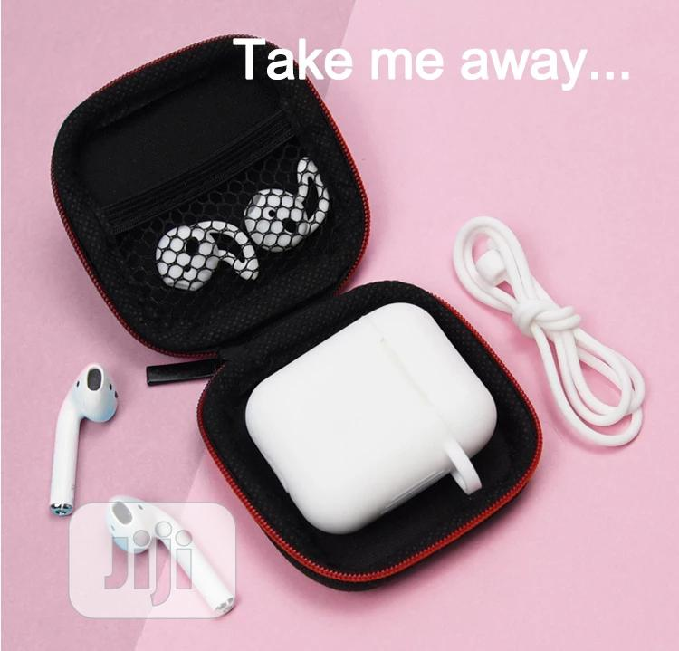 Ear-pod Silicone Case With Antilost Strap & Carabiner   Accessories for Mobile Phones & Tablets for sale in Amuwo-Odofin, Lagos State, Nigeria
