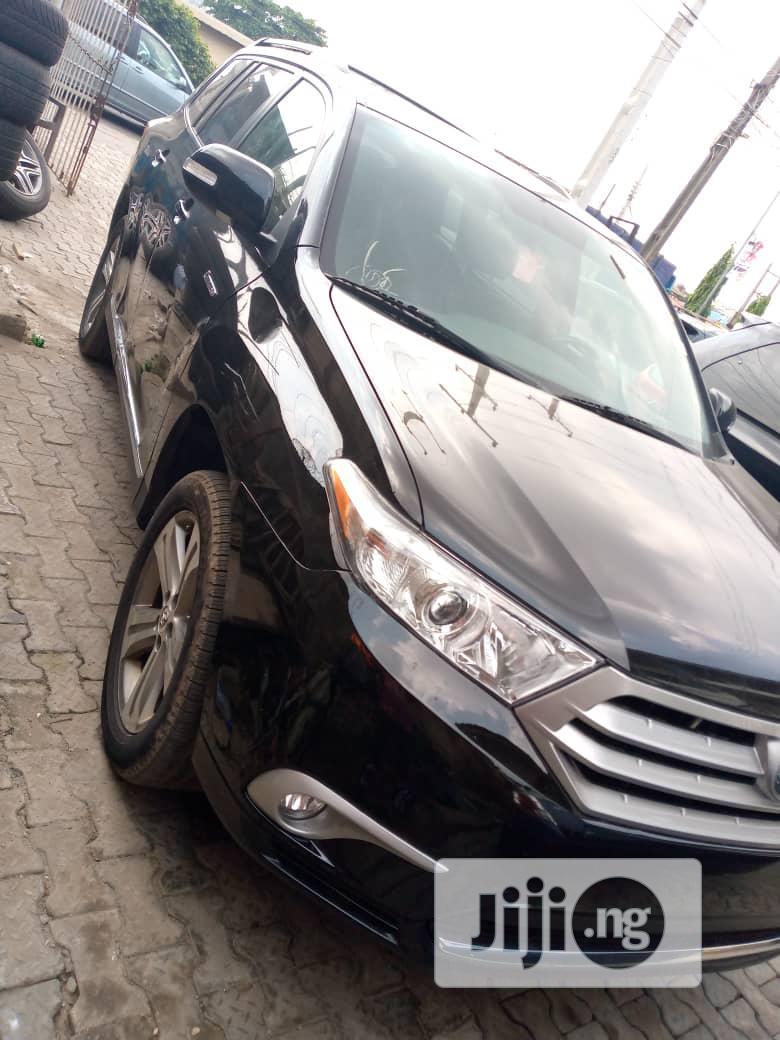 Toyota Highlander 2009 Black | Cars for sale in Ikeja, Lagos State, Nigeria