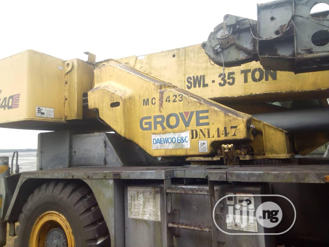 35 Ton Grove Crane 2009 | Heavy Equipment for sale in Port-Harcourt, Rivers State, Nigeria