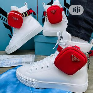 Prada Sneaker Available as Seen Swipe to Pick Your Preferre | Shoes for sale in Lagos State, Lagos Island (Eko)