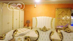 Unique Turkey Bed Set With Wardrobe And Dresser's Mirror   Furniture for sale in Abuja (FCT) State, Central Business District