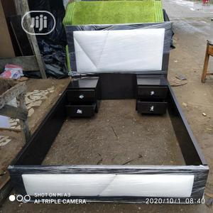 41/2 by 6ft Modern Bedframe | Furniture for sale in Lagos State, Isolo