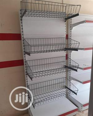Supermarket Baskets Shelf Single | Store Equipment for sale in Lagos State, Ojo