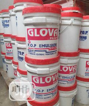 Glova Paint Emulsion Paint (20ltrs)   Building Materials for sale in Lagos State, Yaba