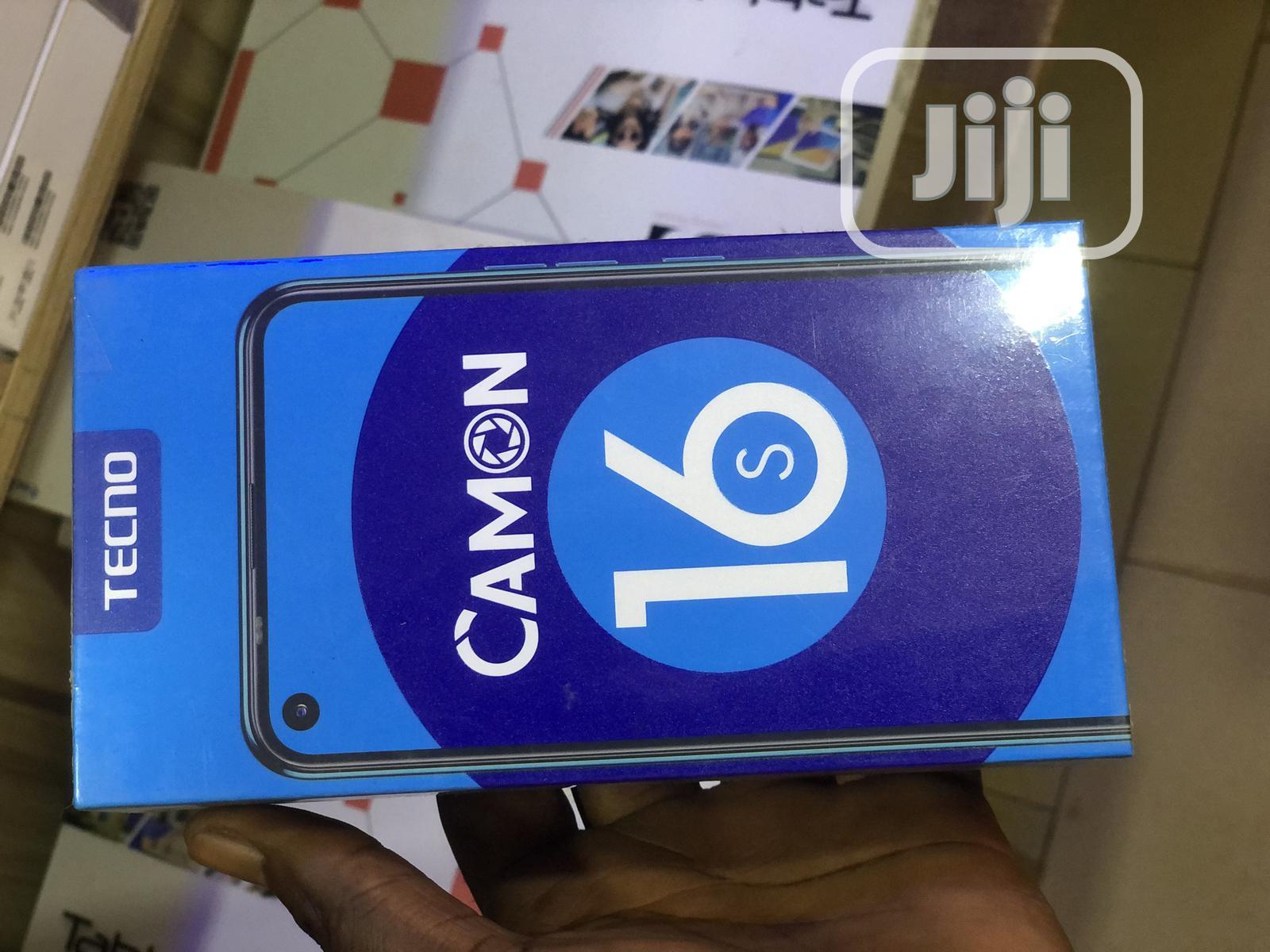 Archive: New Tecno Camon 16S 128 GB