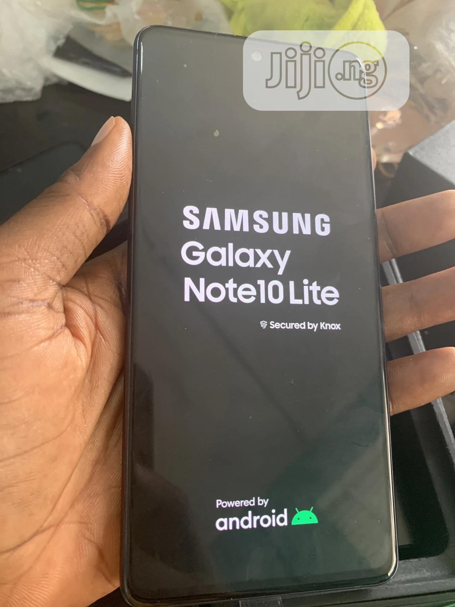 Samsung Galaxy Note 10 Lite 128 GB Black