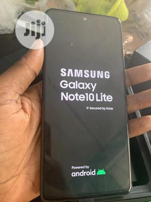 Samsung Galaxy Note 10 Lite 128 GB Black | Mobile Phones for sale in Osun State, Osogbo