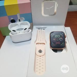 F10 Smartwatch And Airpod Pro   Smart Watches & Trackers for sale in Lagos State, Ikeja