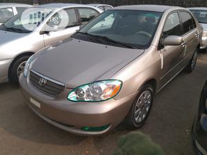 Toyota Corolla 2003 Sedan Automatic Gold | Cars for sale in Lagos State, Apapa