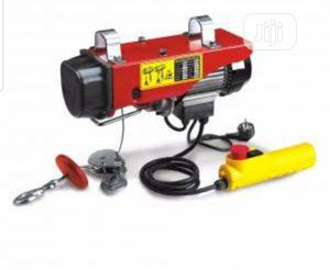 Wire Rope Electric Hoist Wire Rope Motor Hoist | Manufacturing Equipment for sale in Lagos State, Amuwo-Odofin