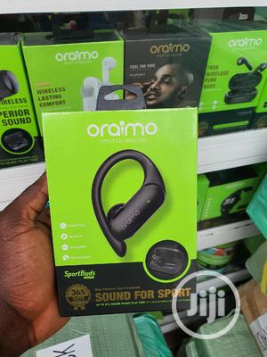 Oraimo Sportbuds Bluetooth Twin Headset (Model E95D)   Headphones for sale in Lagos State, Ikeja