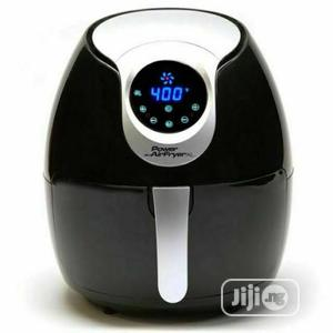 Large Electric Air Fryer, Black   Kitchen Appliances for sale in Lagos State, Surulere