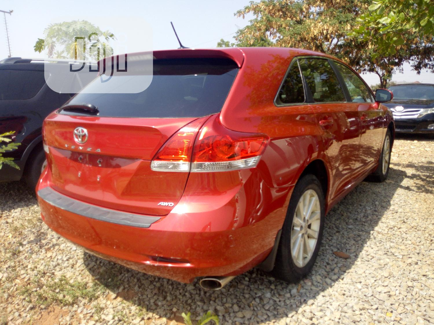 Toyota Venza 2010 Red | Cars for sale in Gwarinpa, Abuja (FCT) State, Nigeria