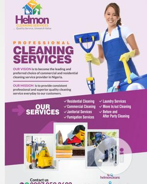 Cleaning, Fumigation and Laundry Services   Cleaning Services for sale in Abuja (FCT) State, Jabi