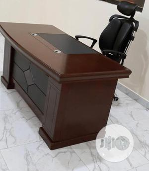Super Quality Executive Office Table and Chair Available | Furniture for sale in Zamfara State, Anka