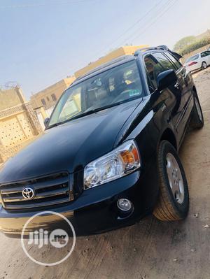 Toyota Highlander 2004 Limited V6 FWD Black   Cars for sale in Kano State, Kano Municipal