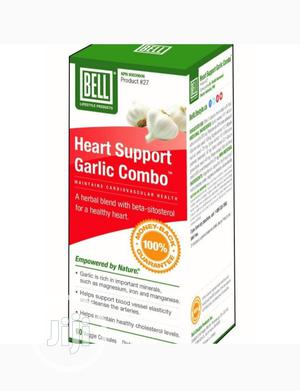 Bell Heart Support Garlic Combo | Vitamins & Supplements for sale in Lagos State, Ikeja