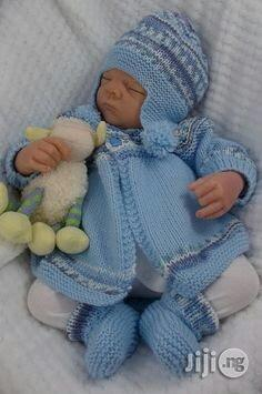 Newborn Baby Sweater Knitted Baby Cardigan Warm Clothes | Children's Clothing for sale in Plateau State, Jos