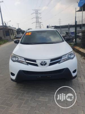 Toyota RAV4 2015 White   Cars for sale in Lagos State, Ajah