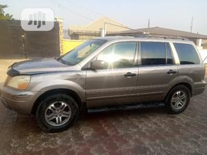 Honda Pilot 2003 EX-L 4x4 (3.5L 6cyl 5A) Gold | Cars for sale in Oyo State, Ibadan