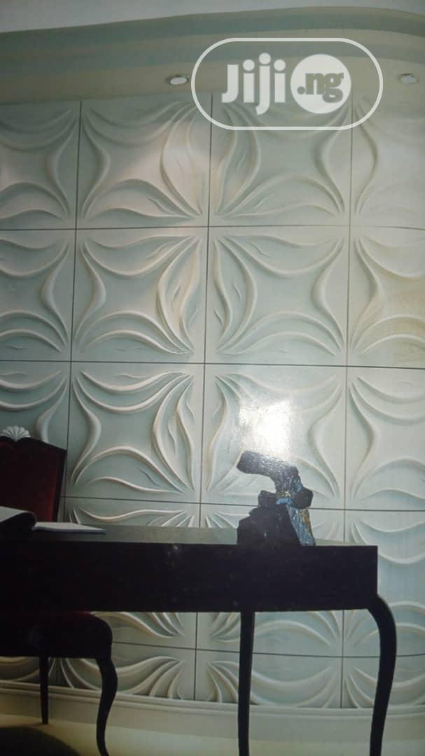 3D Panel I Light Deco