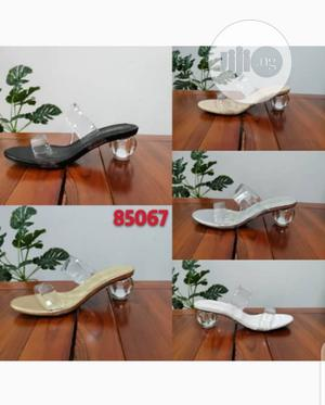 Ladies Transparent Glass Heels Slippers | Shoes for sale in Lagos State, Lagos Island (Eko)