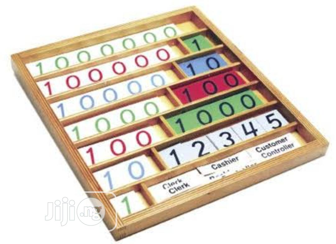 Archive: Montessori Bank Game