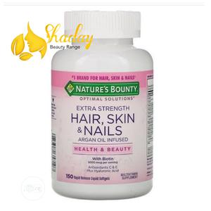 Nature's Bounty Hair,Skin And Nails With Argan Oil Infused | Skin Care for sale in Lagos State, Ojo