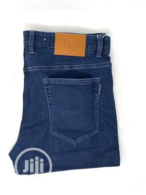 Calvin Klein Navy Blue Jeans Original | Clothing for sale in Lagos State, Surulere