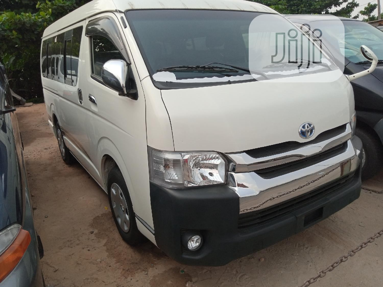 Toyota Grand Hiace 2013 White | Buses & Microbuses for sale in Apapa, Lagos State, Nigeria