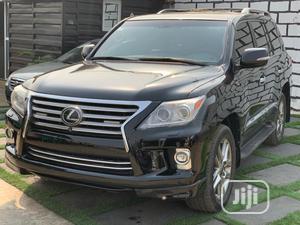 Lexus LX 2014 570 Base Black | Cars for sale in Lagos State, Ikeja